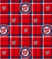 "Washington Nationals Flannel Fabric 42""-Plaid, , hi-res"
