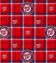 Washington Nationals Flannel Fabric-Plaid, , hi-res