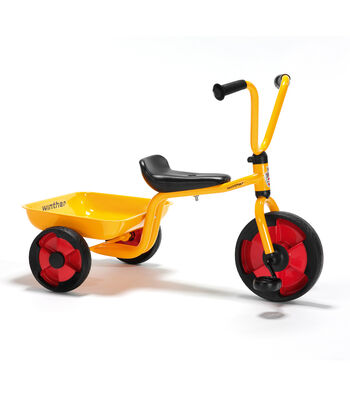 Winther Duo Tricycle with Tray-Yellow
