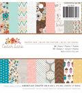 American Crafts 36 Pack 6\u0027\u0027x6\u0027\u0027 Paper Pad-Cedar Lane