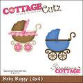 CottageCutz Die Baby Buggy