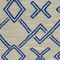 PKL Studio Upholstery Fabric-Malian Geo Lapis