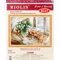 RIOLIS 11.75\u0027\u0027x8.25\u0027\u0027 Counted Cross Stitch Kit-Willow & Snowdrops