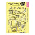 Waffle Flower Crafts Clear Stamps 4\u0022X6\u0022-We Blend