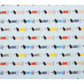 Super Snuggle Flannel Fabric-Weiner Dogs in Line