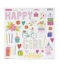 Wish Big Girl Chipboard Stickers 12\u0022X12\u0022-Icons