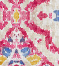 Kelly Ripa Home Upholstery Décor Fabric-Seen & Heard Petunia