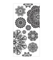 Kaisercraft Doilies Clear Stickers, , hi-res