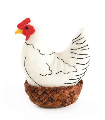 Pin Cushion-Hen In Nest
