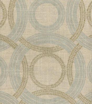 "Waverly Multi-Purpose Decor Fabric 54""-Radiant Rings/Vermeil"