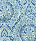 Waverly Upholstery 8x8 Fabric Swatch-Balsamine/Bluejay
