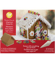 Wilton Ready to Decorate Gingerbread House Decorating Kit, , hi-res