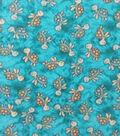 Anti-Pill Plush Fleece Fabric-Baby Turtle