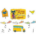 Pete the Cat We\u0027re Rocking in Our Learning Shoes Bulletin Board Set