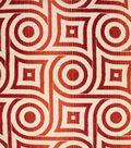 Home Decor 8\u0022x8\u0022 Fabric Swatch-Upholstery Fabric Barrow M8741-5213 Coral