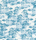 Asian Inspired Cotton Fabric 43\u0027\u0027-Bamboo Forest