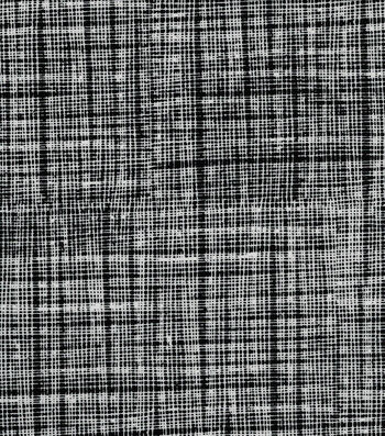 Quilter's Showcase Cotton Fabric 44''-Screen Blender on Black