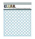 Clear Scraps 12\u0027\u0027x12\u0027\u0027 Stencils-Quartefoil