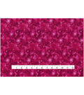 Keepsake Calico Cotton Fabric 43\u0027\u0027-Metallic on Dark Pink Galaxy
