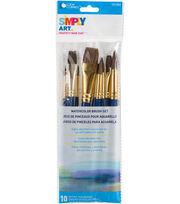Loew-Cornell Simply Art Watercolor Brush Set, , hi-res