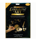 Foil Engraving Art Blank Boards 8\u0022X10\u0022-Gold