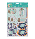 Papermania Owl Folk A4 Decoupage Pack-Older & Wiser