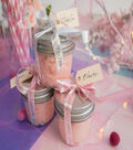 Brother P-touch Embellish Satin Ribbon 0.47\u0027\u0027x13.1\u0027-Gold on Pink