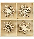 Kaisercraft Wooden Snowflake Flourish Pack