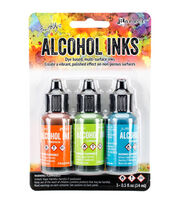 Tim Holtz 3 Pack 0.5fl.oz. Alcohol Ink-Spring Break, , hi-res