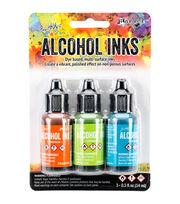 Tim Holtz 3 Pack 0.5fl.oz. Alcohol Ink-Spring Break, , hi-res