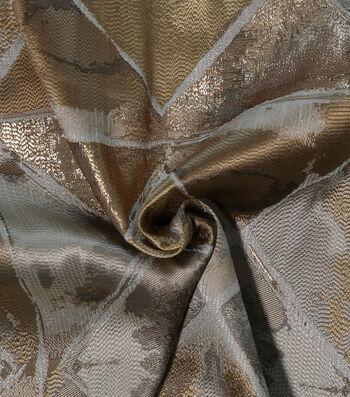 Metallic Brocade Fabric-Gold Diamond