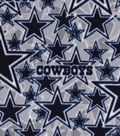 Dallas Cowboys Fleece Fabric 58\u0022-Logo