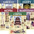 Creative Teaching Press Ancient Civilization 5-Chart Pack