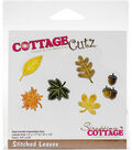 The Scrapping Cottage CottageCutz Dies-Stitched Leaves