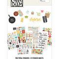 Carpe Diem Recipe A5 Stickers