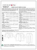Mccall Pattern V8937 8-10-12-14-Vogue Pattern