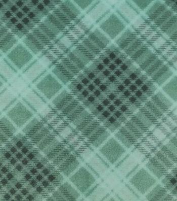 "Sew Lush Fabric 58""-Yukon Green Plaid"