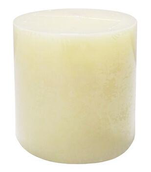 Hudson 43 Candle & Light Collection 3X3 Pillar Ivory