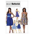 Mccall Pattern B5457 6-8-10-12 -Butterick Pattern