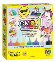 Creativity for Kids Emoji Window Art Activity Set, , hi-res