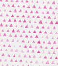 Keepsake Calico Cotton Fabric -Pink Shaded Triangle