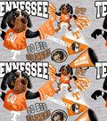 University of Tennessee Volunteers Cotton Fabric-Collegiate Mascot