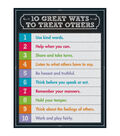 Carson-Dellosa 10 Great Ways to Treat Others Chart 6pk
