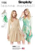 Simplicity Pattern 1196P5 12-14-16-1-Dresses