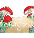 Stamping Bella Cling Stamps-Gnome Backdrop