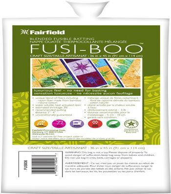 "Fusi-Boo Fusible Batting 36""x45"""