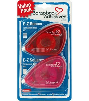 E-Z Runner Adhesive Duo Pack
