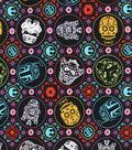 Star Wars Cotton Fabric 44\u0027\u0027-Sugar Skulls