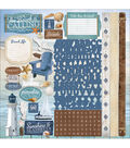 Paper House Cardstock Stickers-At The Beach