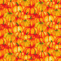 Harvest Cotton Fabric-Wtrclr Pumpkins Glitter